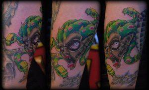 Louisville Tattoo Artist Valentine 2