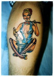 Memphis Tattoo Artist Joel Hilgenberg