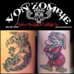 Phoenix Tattoo Shop Von Zombie <br>(1)