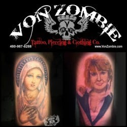 Phoenix Tattoo Shop Von Zombie <br>(2)