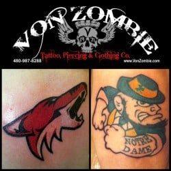 Phoenix Tattoo Shop Von Zombie <br>(4)