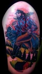 Minneapolis Tattoo Artist Miss Kitty 2