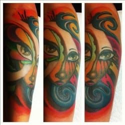 Atlanta Tattoo Artist Miya Bailey 2