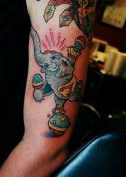 Charlotte Tattoo Artist Jamie Clinton 2