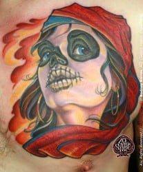Charlotte Tattoo Artist Rodney Raines 3