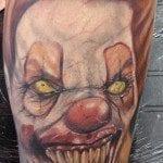 randy harris all hallows ink tattoo evil clown