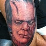 randy harris all hallows ink tattoo frankenstein