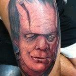 randy harris all hallows ink tattoo frankenstein