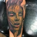 randy harris zombie all hallows ink tattoo