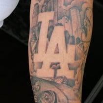 Photo editing fun box palm tree tattoos sunset tattoos for Los angeles tattoo ideas