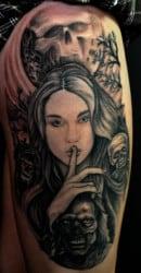 Albuquerque Tattoo Artist Ben Shaw 3