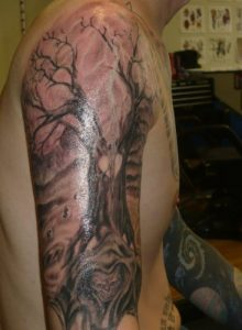 Baltimore Tattoo Aritst Tony Deville 3