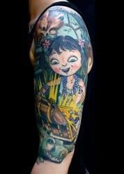 Detroit Tattoo Artist Mark Heggie 1