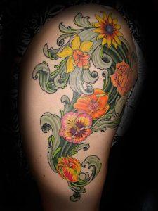 Fresno Tattoo Artist Noe Lopez 1