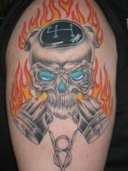 Houston Tattoo Artist Gary Kuhn 2