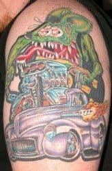 Houston Tattoo Artist Gary Kuhn 3