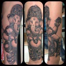 Houston Tattoo Artist Homer Saenz 2