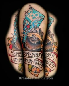 Nashville Tattoo Artist Brandon Henderson 2