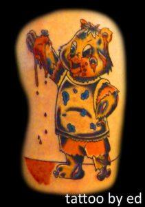 Nashville Tattoo Artist Ed Milburn 1
