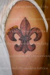 New Orleans Tattoo Artist Juju 1