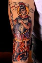 New Orleans Tattoo Artist Theophile 3