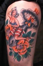 New Orleans Tattoo Artist Theophile 4