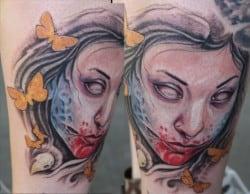 Oakland Tattoo Artist J-Sin 2