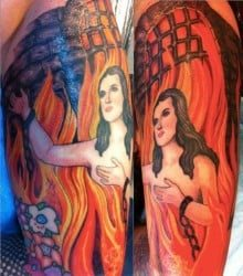 Oakland Tattoo Artist Peter Duddington 3