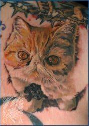 Portland Tattoo Artist D'Lacie McBride