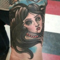 Portland Tattoo Artist Lucky Malony 2