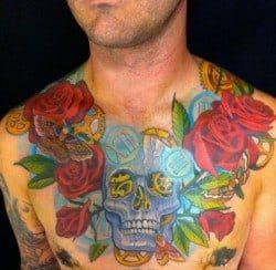 San Diego Tattoo Artist Aaron Della Vedova 1