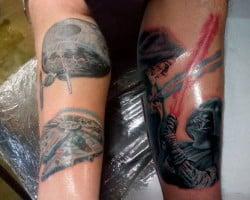 San Diego Tattoo Artist John 3