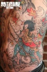 Washington DC Tattoo Artist Paul Roe 2