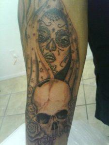 El Paso Tattoo Artist Sergio 1