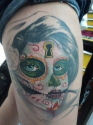 Fort Worth Tattoo Artist Alien 2