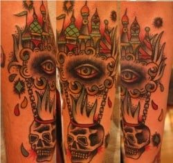 Richmond Tattoo Artist Andrew Slater 1