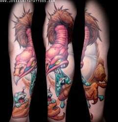 Richmond Tattoo Artist Jesse Smith 2