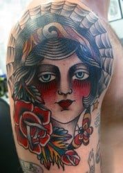 Richmond Tattoo Artist Marina Inoue 1