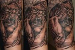 Richmond Tattoo Artist Tony Amundson 1