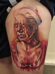 San Antonio Tattoo Artist Mario Sanchez 1