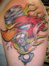 San Antonio Tattoo Artist Robert Corso 3