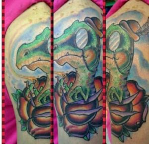 Kansas City Tattoo Artist Robbie Lopez 1