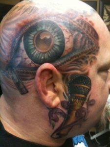 Dallas Tattoo Artist Billy Jack Gunter 2