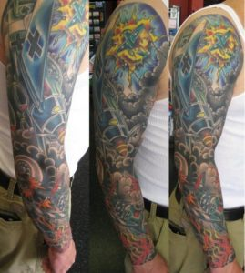 Dallas Tattoo Artist Scott Cooksey 4