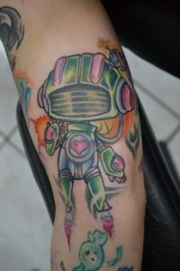 New Orleans Tattoo Artist Joe Savva 2