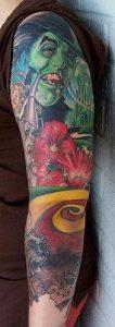 Omaha Tattoo Artist Devin 2