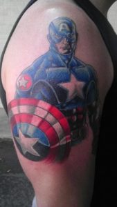 Raleigh Tattoo Artist Errol Cathcart 4