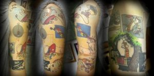 Raleigh Tattoo Artist Lacie Frain 1