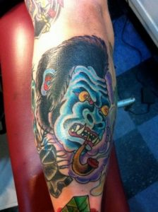 Raleigh Tattoo Artist Ray 1