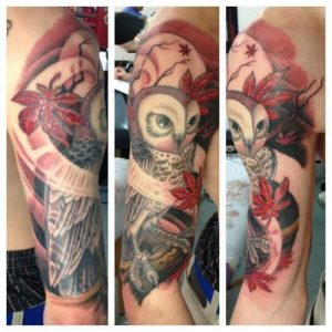 Seattle Tattoo Artist Megon Shore 1